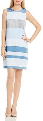 VINCE CAMUTO Veranda Stripe Shift Dress $139 thestylecure.com