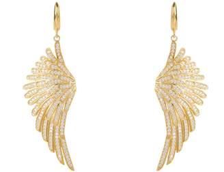 8454fcd37a6f4c LATELITA - Angel Wing Drop Earring Gold White