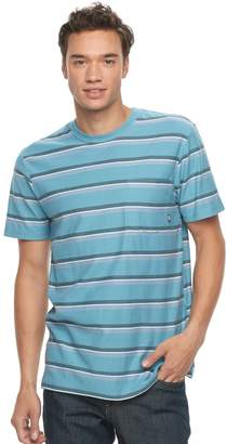 Vans Men's Lower Up Striped Tee