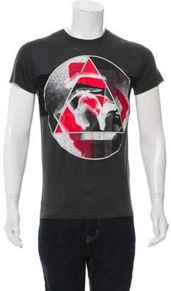 Christian Dior Graphic Geometric Print T-Shirt