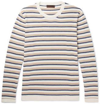 Altea Striped Cotton Sweater