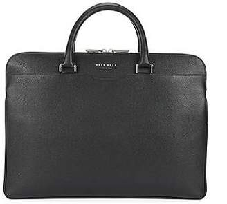 HUGO BOSS Signature Collection document case in embossed palmellato leather