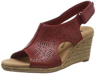 a40d6c2f4 Clarks Women s Lafley Rosen Sling Back Sandals
