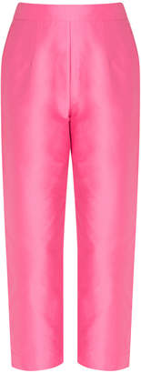 Isa Arfen High-rise Cropped Trousers