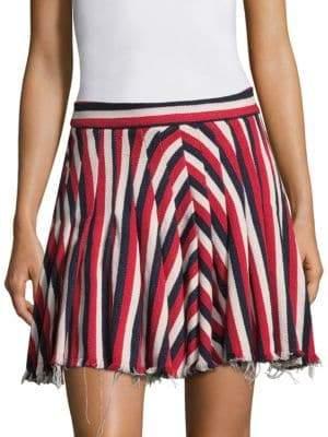 Maggie Marilyn My Darling Striped Mini Skirt