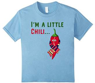 Funny I'm A Little Chili T-Shirt Red Pepper