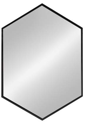 Laurèl Kate & All Things Decor Kate and Mcneer Large Hexagon Metal Wall Mirror