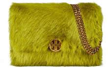Tory Burch Chelsea Faux Fur Convertible Shoulder Bag