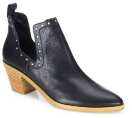 Rebecca Minkoff Lana Leather Booties $175 thestylecure.com