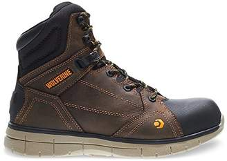 Wolverine Men's Rigger WPF Composite-Toe Mid Wedge Construction Boot