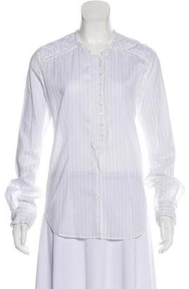 Golden Goose Striped Button-Up Shirt w/ Tags