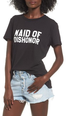 Women's Sub_Urban Riot Maid Of Dishonor Graphic Tee $36 thestylecure.com