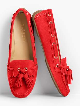 Talbots Everson Driving Moccasins - Suede