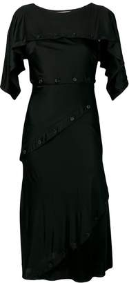 Roberto Cavalli button dress