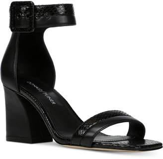 Donald J Pliner Watson Slant-Heel Dress Sandals Women's Shoes