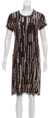 Lanvin Sequin Shift Dress