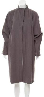 Max Mara Longline Wool Coat