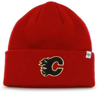 '47 Calgary Flames NHL Raised Cuff Knit Beanie