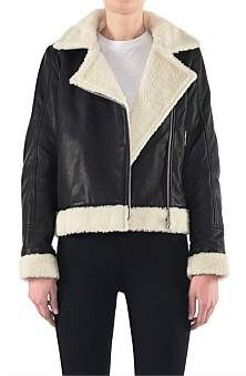 Neuw Denim Soho Leather Sherpa