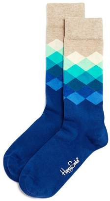 Happy Socks Diamond Argyle Socks