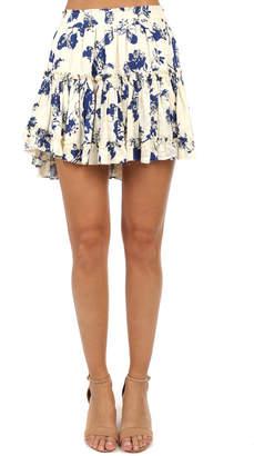 MISA Los Angeles Preto Skirt