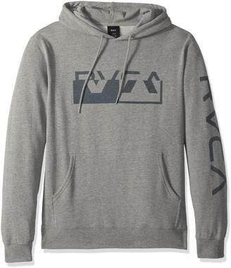 RVCA Men's Co Brand Pullover Hoodie