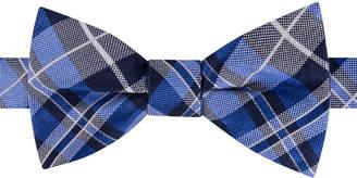 Tommy Hilfiger Men West Side Plaid To-Tie Silk Bow Tie