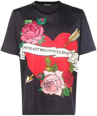 Dolce & Gabbana printed T-shirt