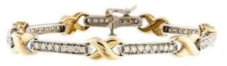 Bracelet 14K Diamond Infinity Wrap Bracelet