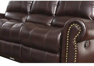 Abbyson Living Sedona 3 Piece Leather Living Room Set
