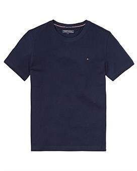 Tommy Hilfiger Boys Basic Knit S/S Tee (Boys 3-7 Years)