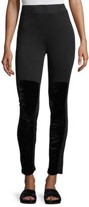 XCVI Kata Velvet Leggings, Plus Size