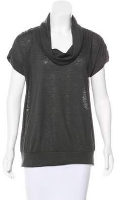 Calvin Klein Cowl Neck Short Sleeve Top