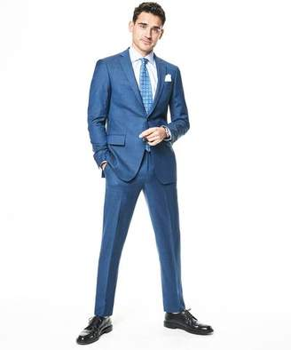 Todd Snyder White Label Sutton Stretch Tropical Wool Suit Jacket In Petrol Blue