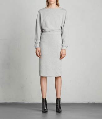 AllSaints Chrissy Sweat Dress