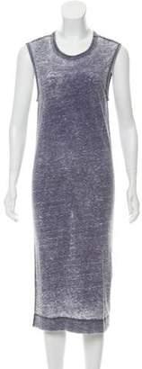 IRO Acid Wash Midi Dress