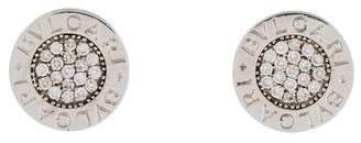 Bvlgari Diamond Stud Earrings