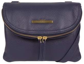 266d270ef2f2 at Debenhams · Pure Luxuries London - Denim  Sheryl  Handcrafted Leather  Cross-Body Bag