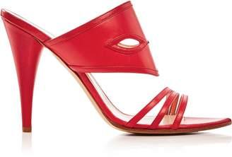 Vivienne Westwood Azalea Masque Heeled Sandals - Red
