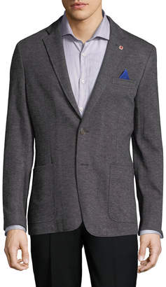 Ben Sherman Herringbone Notch Sportcoat