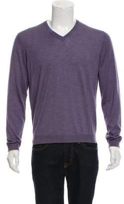 Brunello Cucinelli Cashmere-Silk Knit Sweater