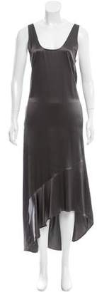 Brochu Walker Silk High-Low Dress w/ Tags $145 thestylecure.com