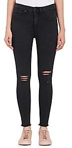 Rag & Bone WOMEN'S HIGH RISE SKINNY DISTRESSED JEANS