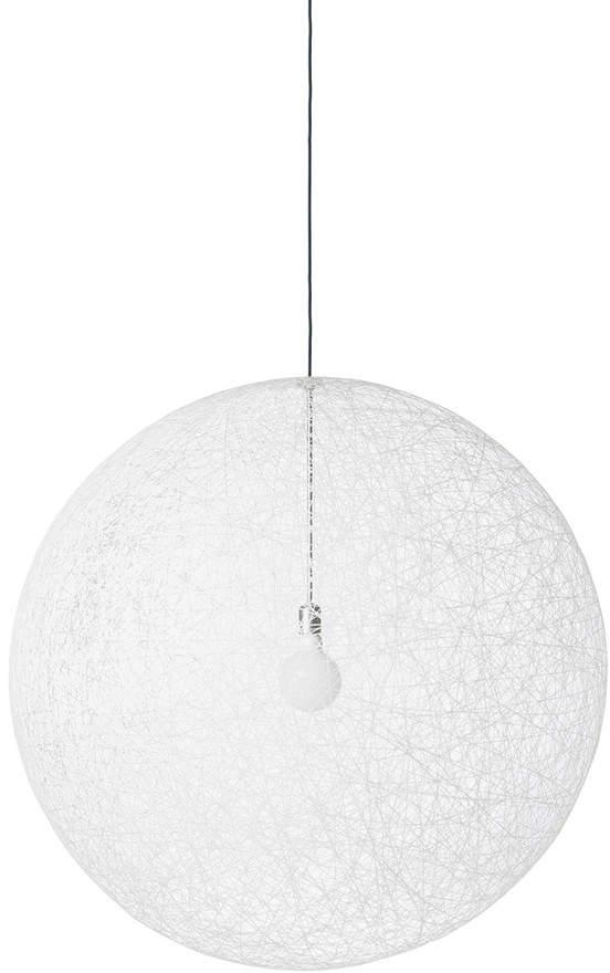 Random Light LED Pendelleuchte, S, Weiß
