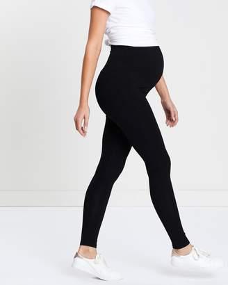 Angel Maternity Maternity 2-Pack Basic Full Length Leggings