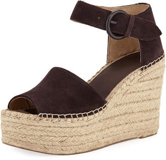 Marc Fisher Alida Espadrille Platform Wedge Sandals