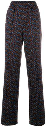 Marni patterned tailored trousers