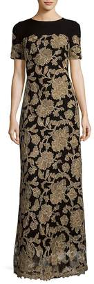 Tadashi Shoji Women's Peony Column Gown