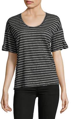 Joie Adaira Striped Linen Top