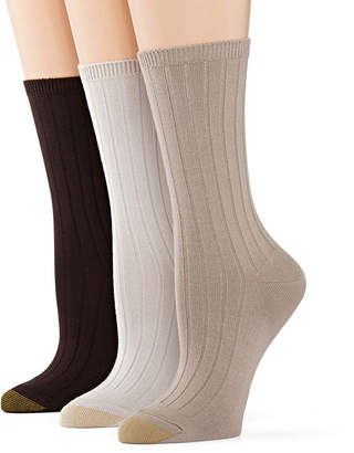 Gold Toe GoldToe 3-pk. Ultra Soft Crew Socks